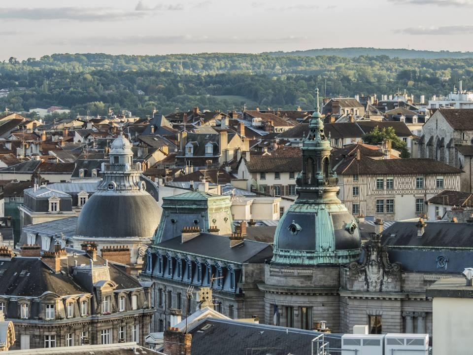 Toits de Limoges en Limousin