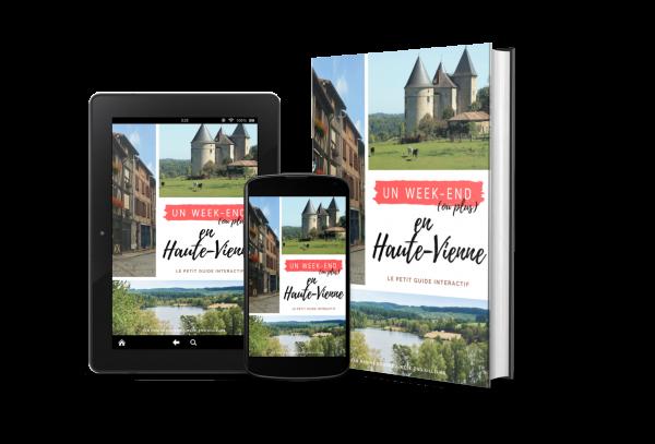 Guide touristique Haute-Vienne, Limousin par Week-end Ailleurs, Marine Doudet