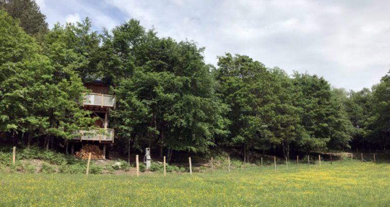 Hébergement insolite en Corrèze - Les cabanes au bord du monde
