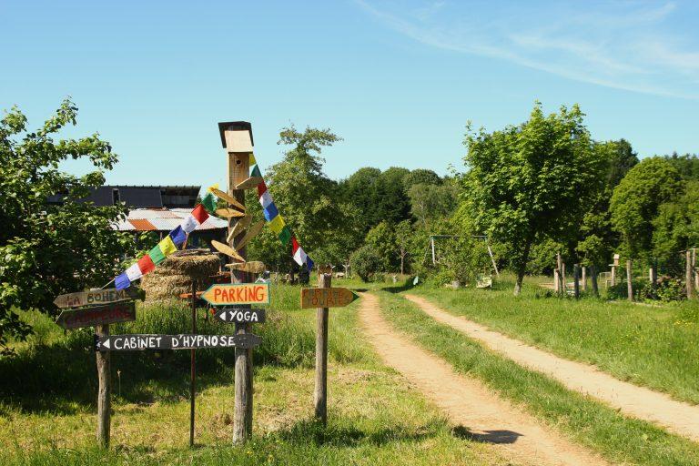 Hébergements insolites en Limousin, Haute-Vienne - Presque Sauvage : éco lieu