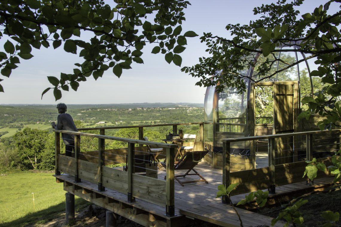 Hébergements insolites en Corrèze - La maison des étoiles - La Domostella