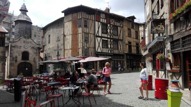 Place Saint-Aurelien à Limoges - Villes et villages à visiter en Limousin