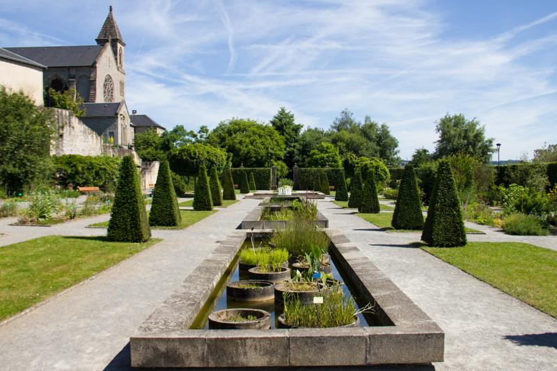 Jardin de l'Évêché à Limoges - Activités culture en Limousin