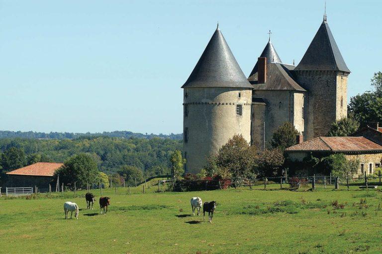 Château de Brie en Haute-Vienne