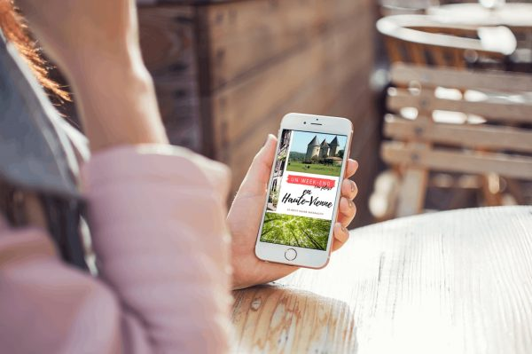 Un week-end ou plus en Haute-Vienne - guide touristique interactif sur portable