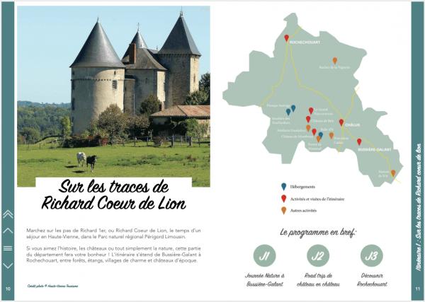 Un week-end en Haute-Vienne - Itinéraire 1