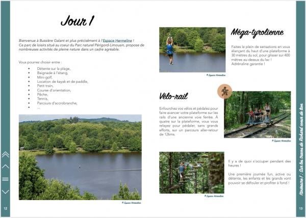 """Un week-end en Haute-Vienne - Jour 1 du premier itinéraire """"Sur la route de Richard Coeur de Lion"""""""