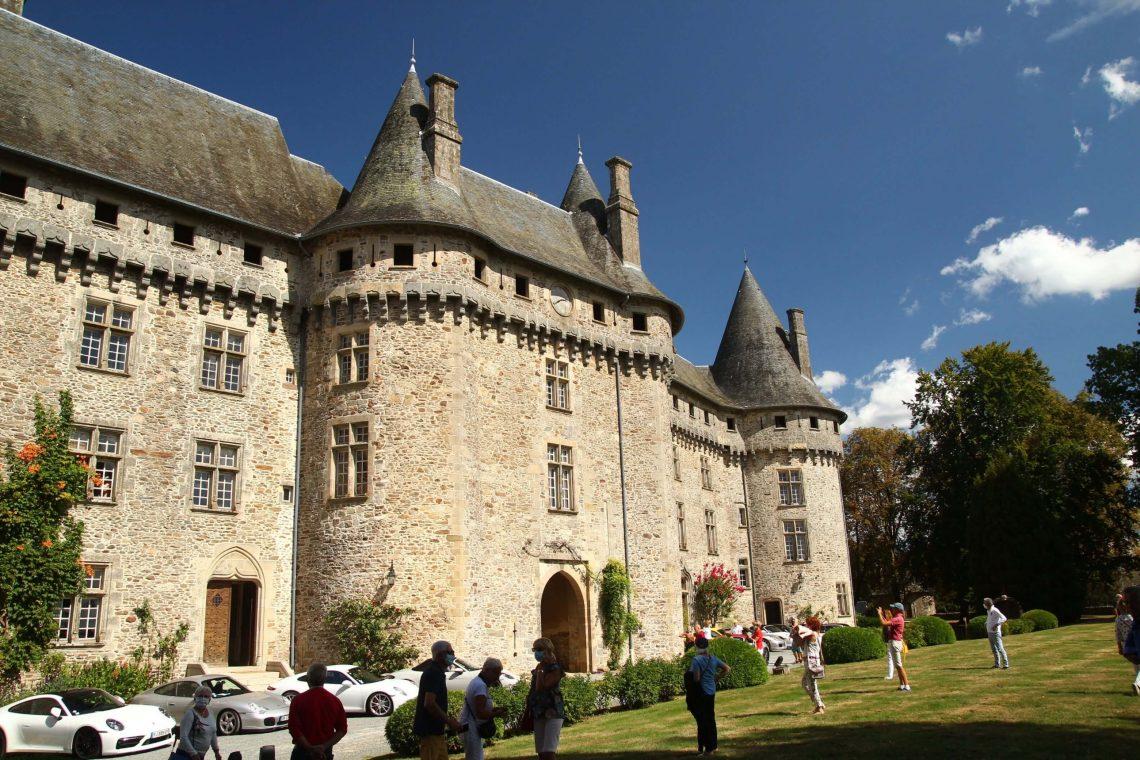 Château de Pompadour, Corrèze