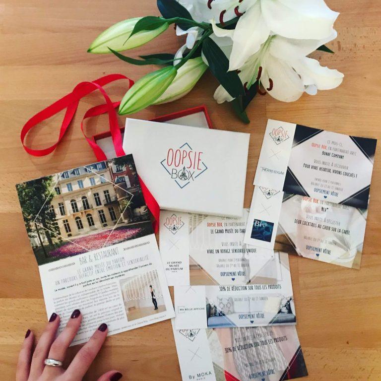 Box cadeau activité culturelle à Paris et Lyon chaque mois