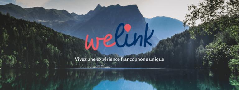Bannière WeLink : trouver une activités touristique en français