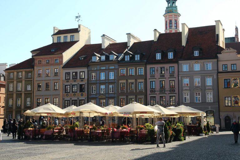 Rynek Starego Miasta - place de la vieille ville à Varsovie